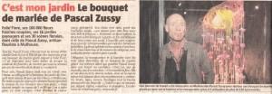 Pascal Zussy Artisan fleuriste à Mulhouse
